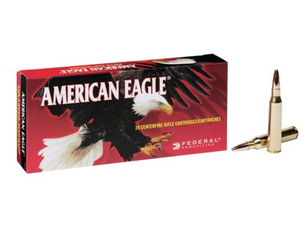 American Eagle 338 Lapua Magnum 250gr Soft Point Ammunition 20rds - AE338L