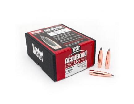 Nosler 30 Caliber(.308) 210gr AccuBond Long Range Bonded Spitzer BT Box/100 - 58317