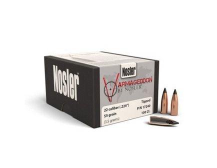 Nosler 22 Caliber (.224) 55gr Varmageddon Tipped Flat Base Bullets 100ct - 17240