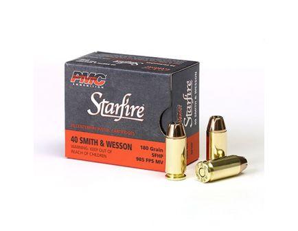 PMC Starfire .40 S&W 180gr JHP Ammunition, 20 Round Box - 40SFA