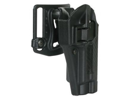 Blackhawk Serpa CQC Right Hand Injection Molded Concealment Holster, Carbon Fiber Black - 410000BK-R