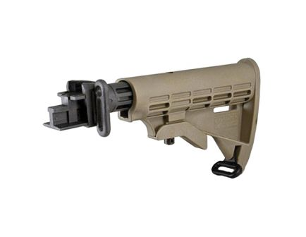 TAPCO INTRAFUSE AK T6 Stock for Stamped Receiver - Dark Earth STK06160