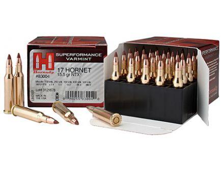 .17 Hornet Ammo