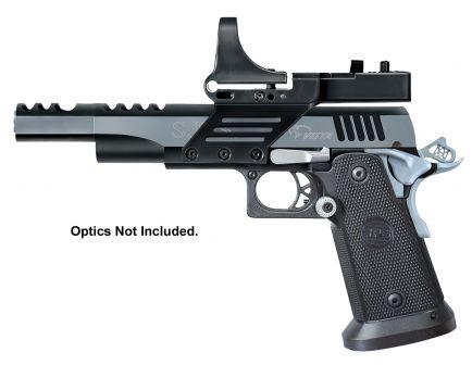 SPS Vista 38 Super 21+1 Long Barrel Pistol, Black Chrome - SPVL38SBC