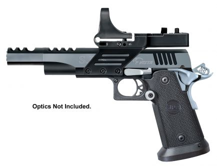 SPS Vista 9mm 21+1 Short Barrel Pistol, Black Chrome - SPVS9BC