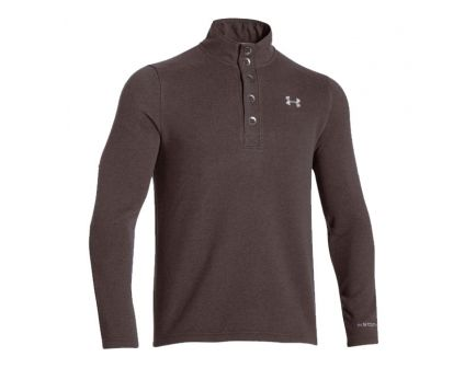 Under Armour Men's Specialist Storm Sweater, Maverick Brown (X-Large)- 1238296-240