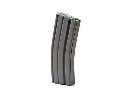 ASC 5.56/.223 AR-15 Aluminum 30 Round Magazine, Black Marlube, Orange Follower  - 30-223-AL-BM-O-ASC