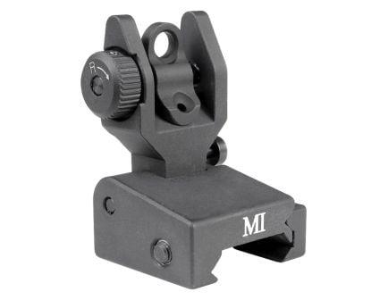 Midwest Industries SPLP Flip-up Rear Sight, Black - MCTAR-SPLP