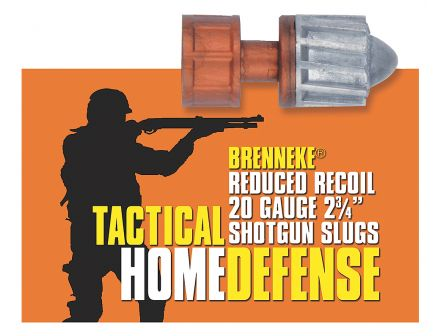 "Brenneke USA THD 20 Gauge 2.75"" Shotgun Slug, 5/box - SL-202THD"