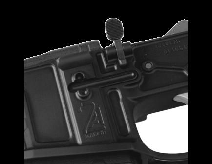 2A Armament Builders Series Bolt Catch For AR15 Rifles, Anodize Black - 2A-STBC-1