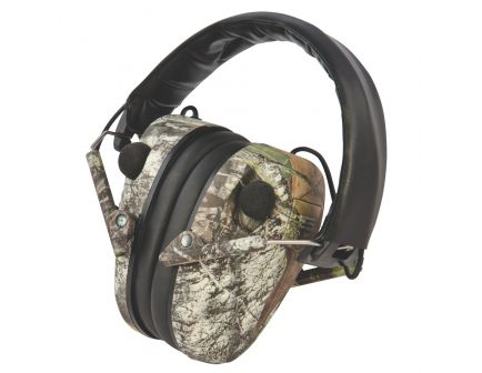 Caldwell E-MAX 23 dB Low Profile Electronic Hearing Protector, Mossy Oak Break-Up - 487200