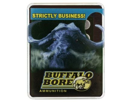 Buffalo Bore Heavy 480 Ruger 410 grain LBT - Wide Flat Nose Pistol and Handgun Ammo, 20/Box - 13C/20