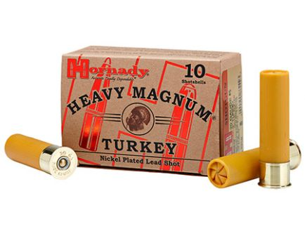"""Hornady 20ga #5 Nickel 3"""" Heavy Magnum Turkey Ammunition 10rds - 86248"""