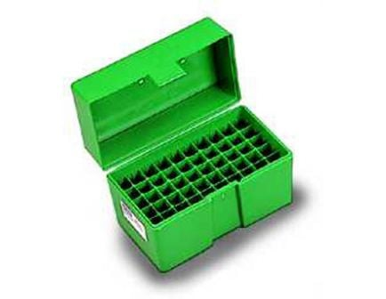 RCBS - Flip-Top Ammo Box 22-250 Rem, 243 Win, 308 Win 50-Round Plastic Green - 86902