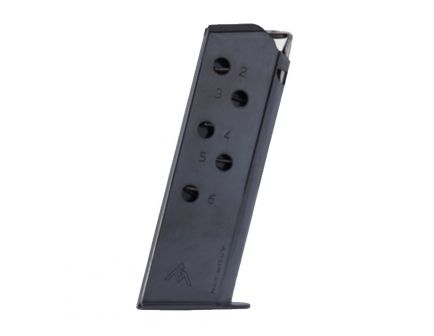 Mec-Gar Walther PPK .380 Auto Blued 6 Round Magazine - MGWPPKSTB