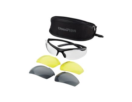 Champion Shooting Glasses 3 Lens w/ case