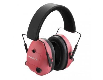 Champion Electronic Ear Muffs Electronic, Pink - 40975