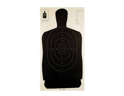 """Champion LE Silhouette Paper 24""""x45"""" Targets, Pack of 100 - 40727"""