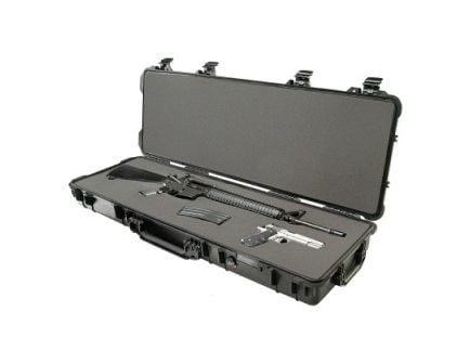 Pelican 1720 Series Long Wheeled Rifle Case - Black 1720-000-110