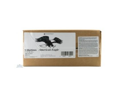 American Eagle 5.56mm 62gr FMJ Steel Core Ammunition, 1000 Rounds