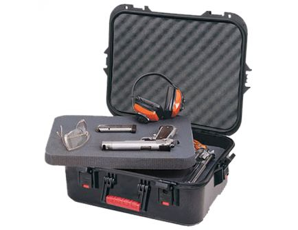 Plano Synergy All Weather Pistol Case, X-Large, Black - 108031