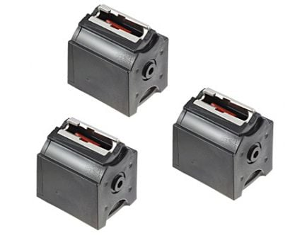 Ruger Magazine: 22 Long Rifle: 10/22 BX-1 3 Pack 10rd Capacity - 90451
