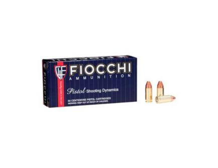 Fiocchi 9mm 115gr CMJ Ammunition, 50 Round Box - 9APCMJ