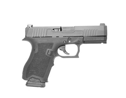 PSA Dagger Compact 9mm Pistol with Night Sights, DLC Slide, & Carry Cuts,  Black