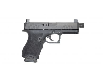 PSA Dagger Compact 9mm Pistol With Carry Cuts, Suppressor Night Sights, and Threaded Barrel - Black