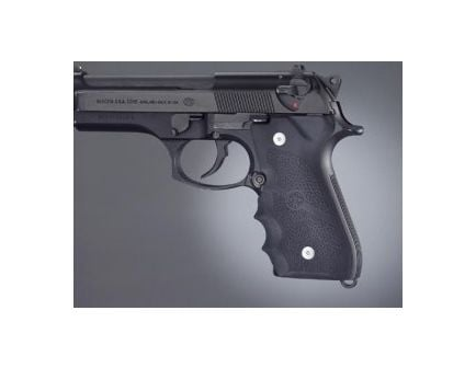 Hogue Wraparound Rubber Grips with Finger Grooves for Beretta 92FS, 92SB, 96, and M9 92000