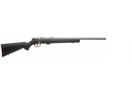 Savage 93R17 FVSS .17HMR Black Synthetic Stock 96703