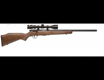 Savage 93R17 GVXP .17 HMR Blued Barrel Wood Stock Rifle w/ Scope 96222