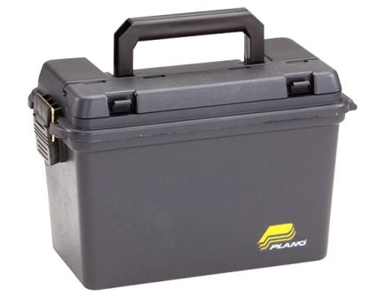 Plano Synergy Water-Resistant Portable Element-Proof Field Ammo Box, Black - 161298
