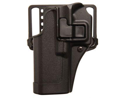 Blackhawk Serpa CQC Left Hand Injection Molded Concealment Holster, Matte Black - 410567BK-L