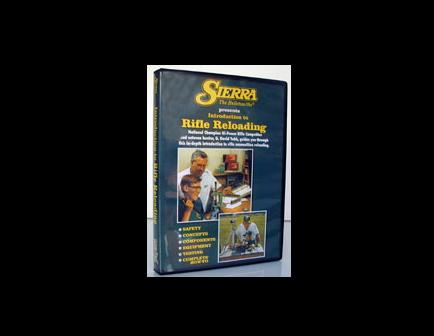 Sierra Rifle Reloading Video - DVD - 0095DVD