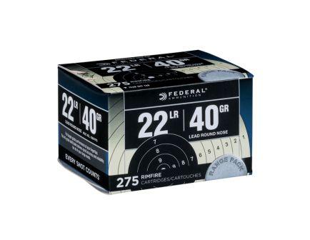 Federal 22 LR 40gr LRN Target Pack Ammunition, 275 Rounds - 729