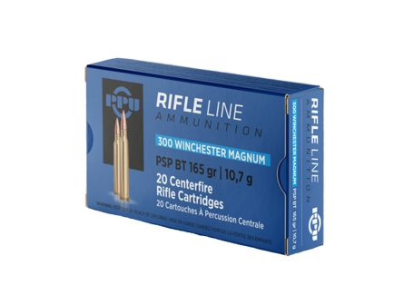 Prvi Partizan .300 Winchester Magnum SPBT 165gr 20 Rounds Ammunition - PP3002