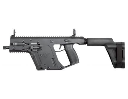Kriss Vector Gen II SDP-SB Black 10mm 15+1 Semi Auto Closed Bolt Delayed Blowback Pistol - KV10-PSBBL20