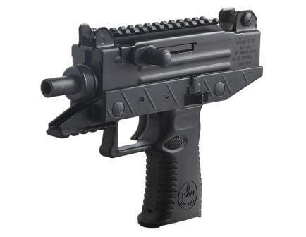 IWI UZI Pro 9mm Parabellum 20/25 Round Semi Auto Blowback Pistol, Black - UPP9S