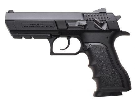 IWI Jericho 941 PL9 Full Size 9mm Parabellum 16 Round Semi Auto Short Recoil Operated Pistol, Black - J941PL9