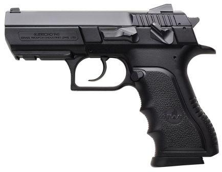 IWI Jericho 941 PSL9 Mid-Size 9mm Parabellum 16 Round Semi Auto Short Recoil Operated Pistol, Black - J941PSL9