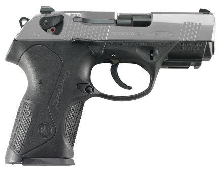 Beretta Px4 Storm Compact Inox 9mm Pistol 15 Round, Satin Stainless - JXC9F51