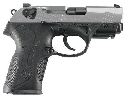 Beretta Px4 Storm Compact Inox 9mm Pistol 10 Round, Satin Stainless - JXC9F50