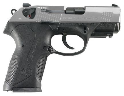 Beretta Px4 Storm Compact Inox 40 S&W Pistol 10 Round, Satin Stainless - JXC4F50
