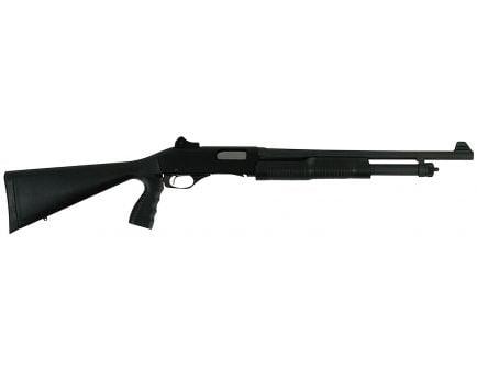 Savage Arms Stevens 320 Security GRS with Pistol Grip 20 Gauge Pump-Action Shotgun, Matte Black - 22439