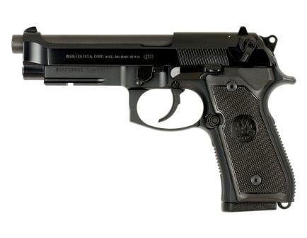 """Beretta M9A1 9mm 4.9"""" CA Compliant Pistol, Black - JS92M9A1CA"""