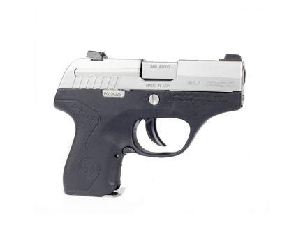 """Beretta Pico Inox .380 ACP 2.7"""" Pistol, Two Tone - JMP8D25"""