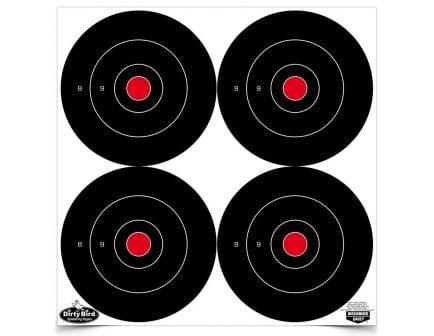 "Birchwood Casey Dirty Bird 6"" Bull's Eye Targets - 35504"