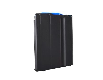 C Products 6.5 Grendel 10 Round Stainless Steel Magazine with Blue Follower, Black - 1065041176CPD