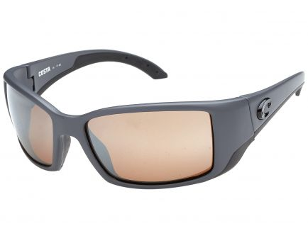 Costa Blackfin - Gray Frame Copper Silver Polarized 580G Lens Sunglasses - BL 98 OSCGLP